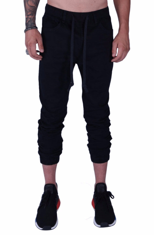 Rich V3 Twill Joggers (Navy) - MEN BOTTOMS - NIGEL MARK
