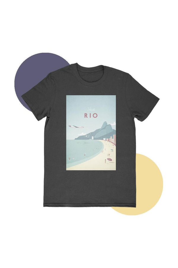 Rio Beach T-Shirt - T-shirts - NIGEL MARK