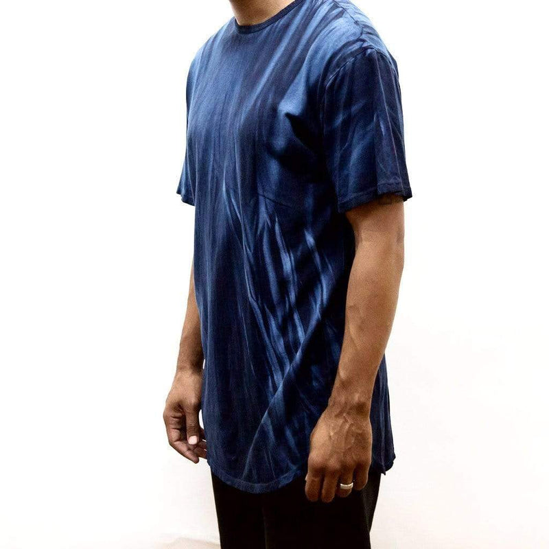 River Wash Tee - Blue - MEN TOPS - NIGEL MARK