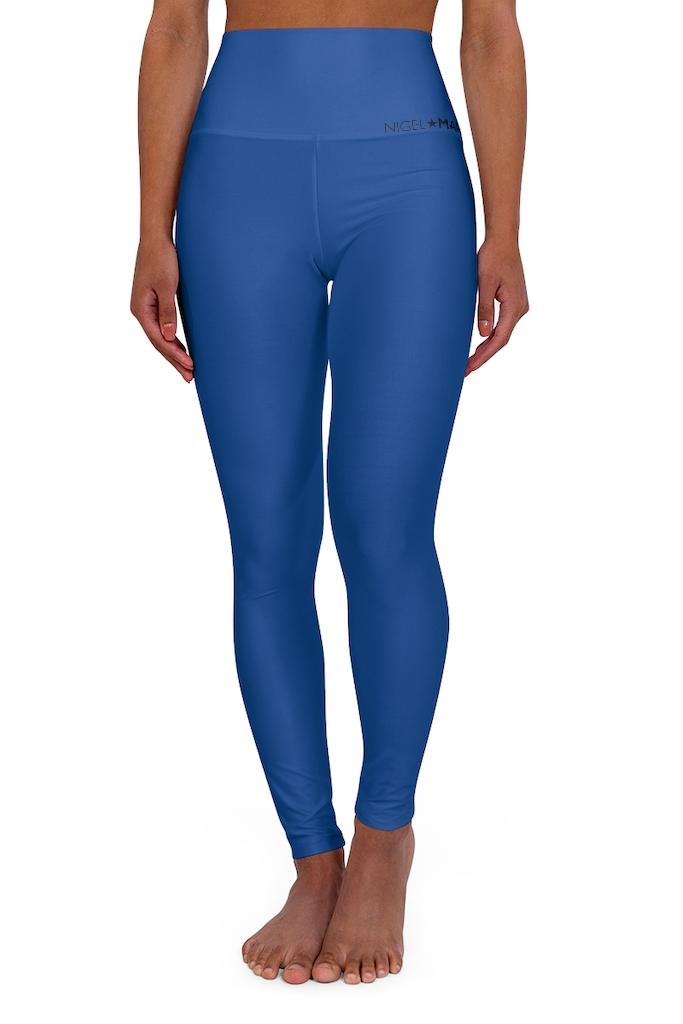 Royal High Waisted Leggings - WOMEN NM BRANDED - NIGEL MARK