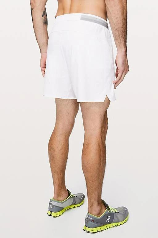 Running Shorts - White - MEN SHORTS - NIGEL MARK