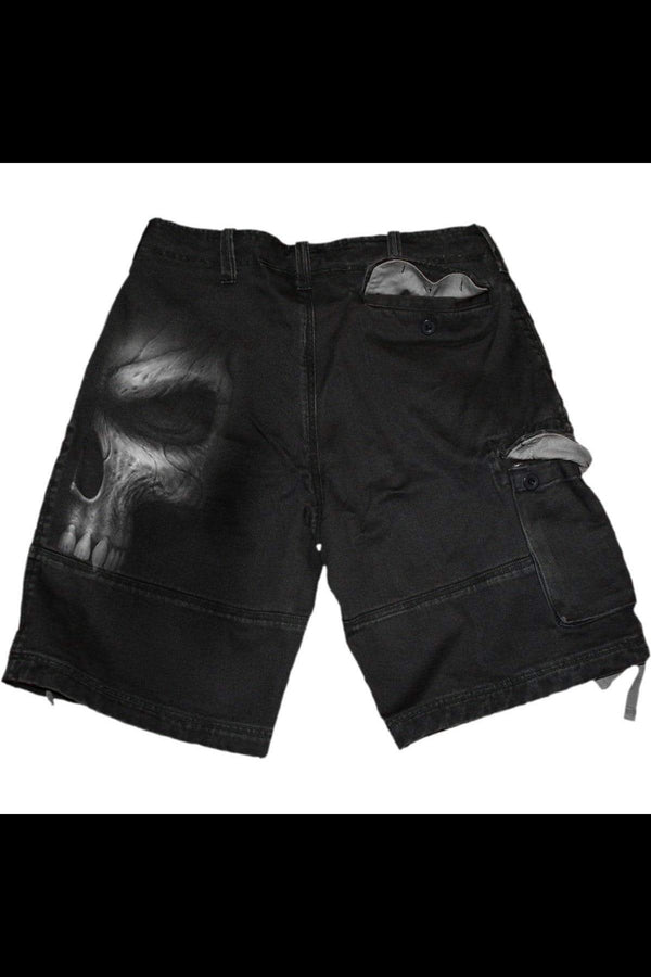 SHADOW MASTER - Vintage Cargo Shorts Black - MEN SHORTS - NIGEL MARK
