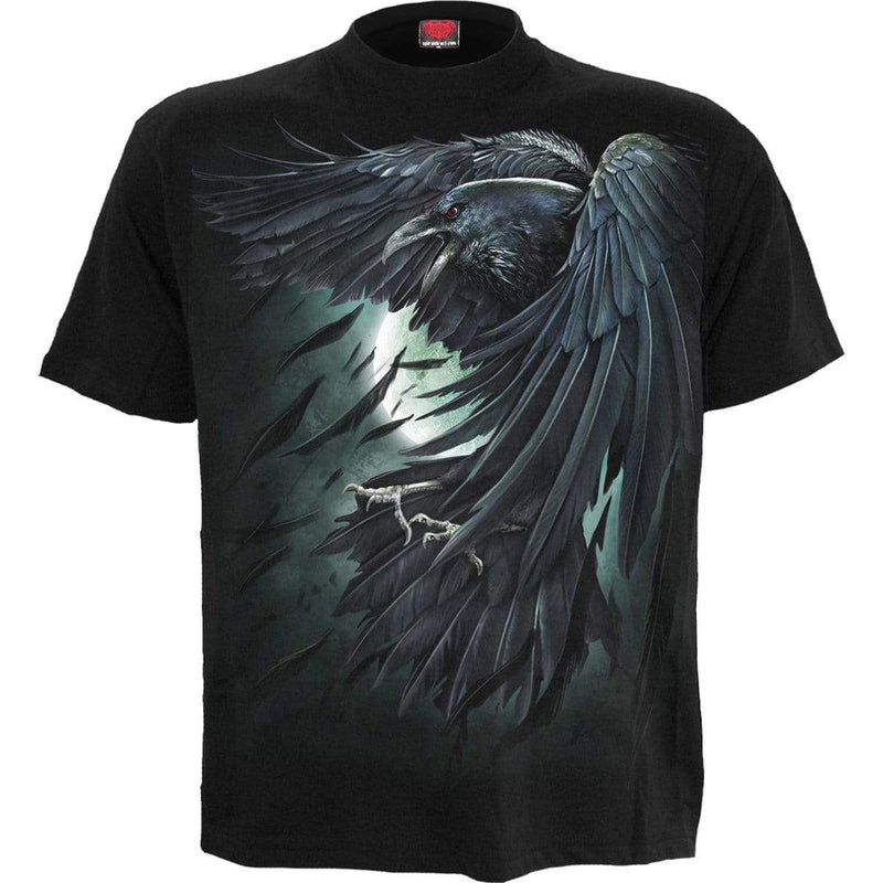 SHADOW RAVEN - T-Shirt Black - MEN TOPS - NIGEL MARK