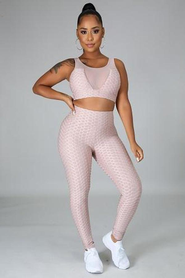 Shanelle Mocha Fitness Set - ACTIVEWEAR - NIGEL MARK