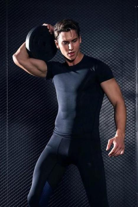 Short Sleeve T-Shirt Fitness - MEN ACTIVEWEAR - NIGEL MARK