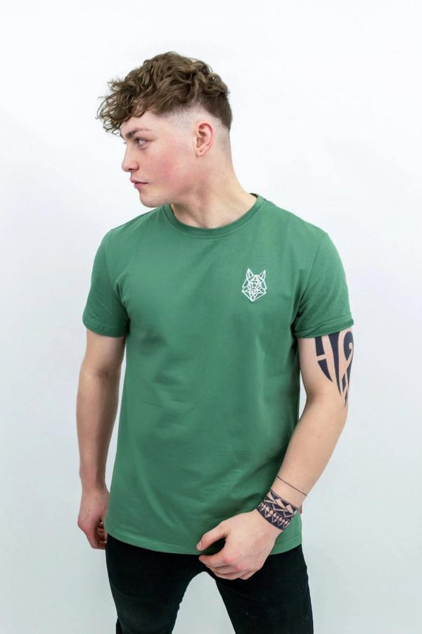 Signature Logo Green T-Shirt - T-shirts - NIGEL MARK