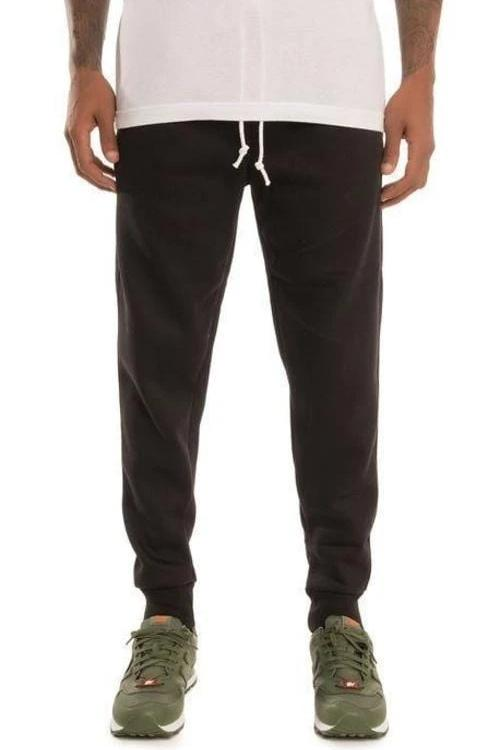 Simply Butter Sweat Joggers (Black) - MEN BOTTOMS - NIGEL MARK