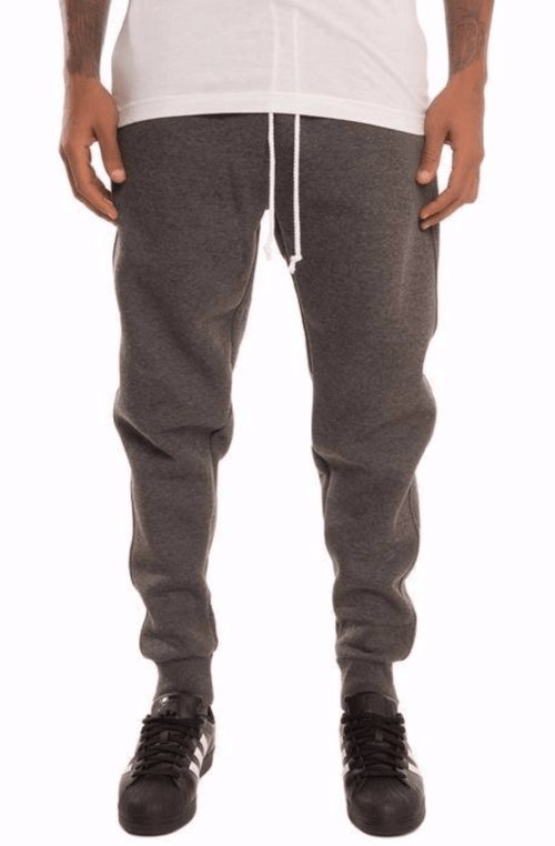 Simply Butter Sweat Joggers - Charcoal - MEN BOTTOMS - NIGEL MARK