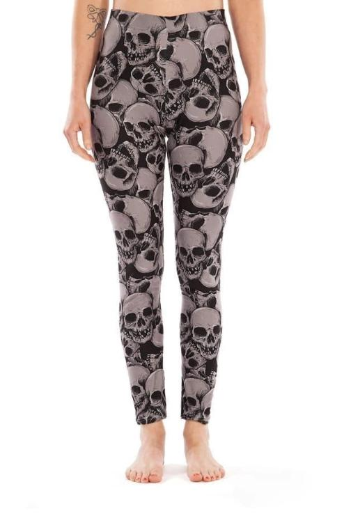 Skulls Legging - BOTTOMS - NIGEL MARK