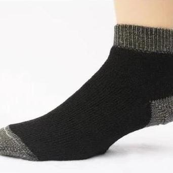 Slipper Bootie Alpaca Sock - MEN ACCESSORIES - NIGEL MARK