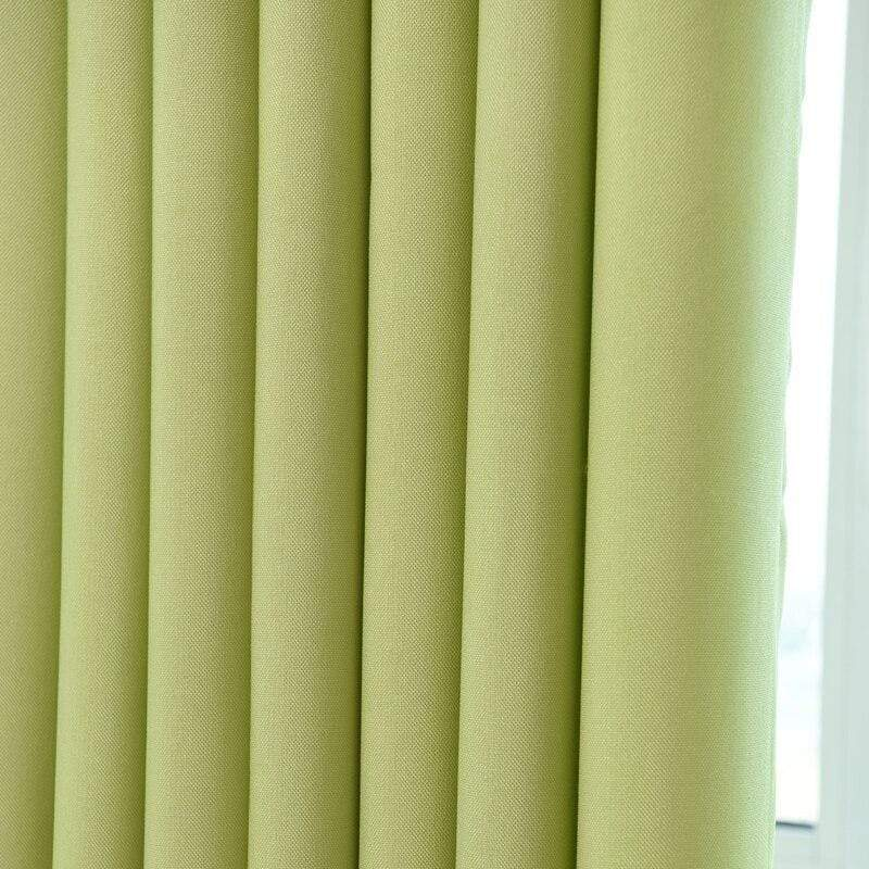Solid Color Modern Curtains - LIVINGROOM - NIGEL MARK