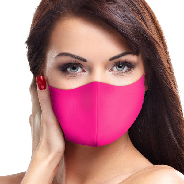 Solid Neon Pink Face Mask - BEAUTY & WELLNESS - NIGEL MARK