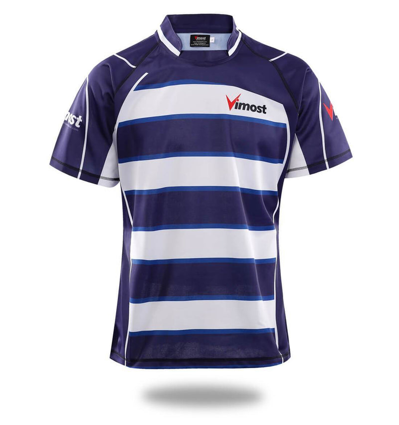 Sublimated Team Design Rugby Shirts - MEN TOPS - NIGEL MARK