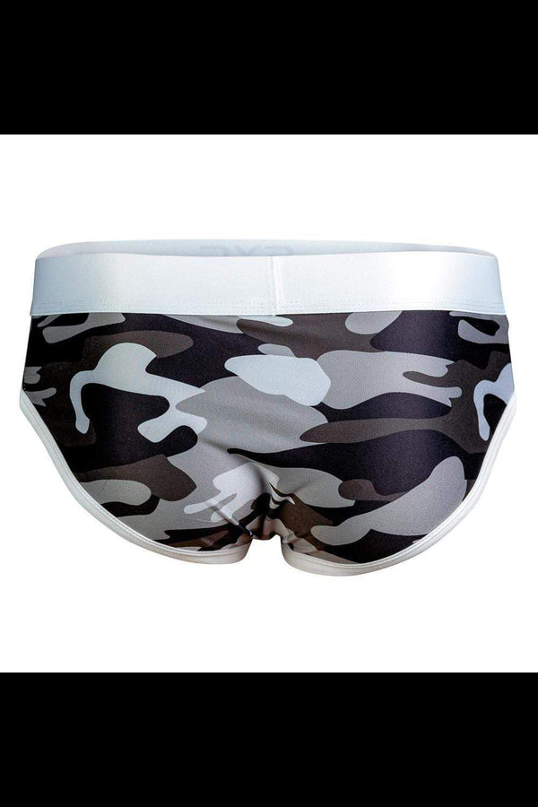 SXC Black Camo Brief - MEN UNDERWEAR - NIGEL MARK