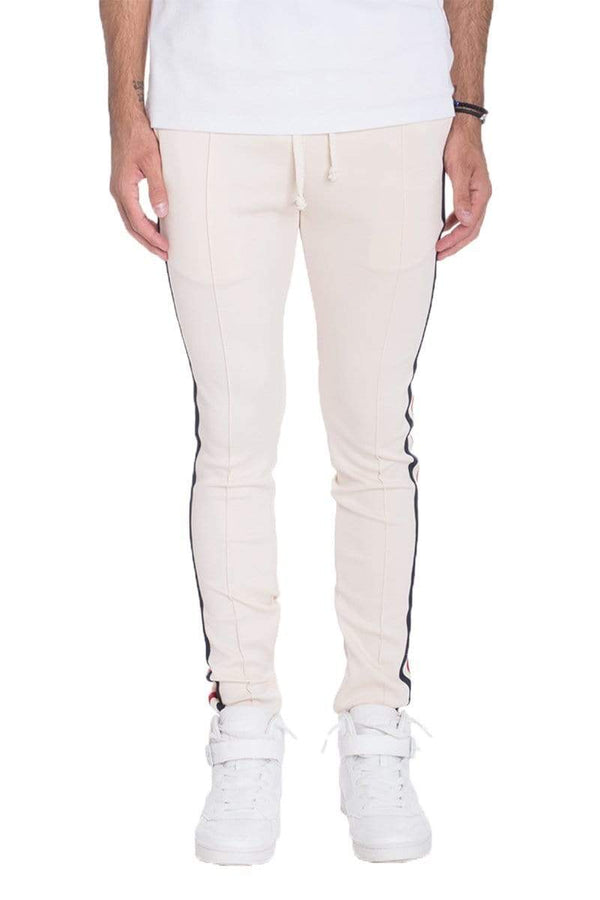 Taped Track Pants - MEN BOTTOMS - NIGEL MARK