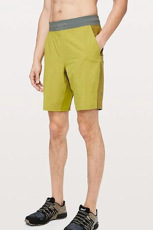 THE Short 9 inch Golden Lime - MEN ACTIVEWEAR - NIGEL MARK
