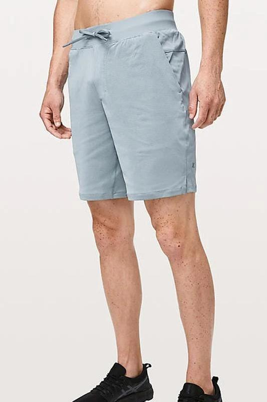 THE Short 9 inch Mesh Skyblue - MEN ACTIVEWEAR - NIGEL MARK