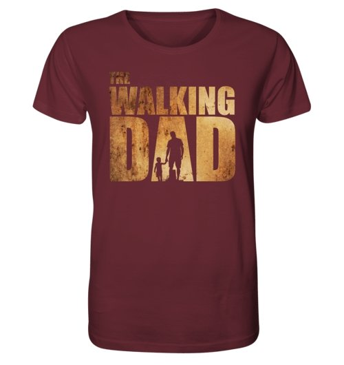 The Walking Dad - Organic Shirt - MEN TOPS - NIGEL MARK