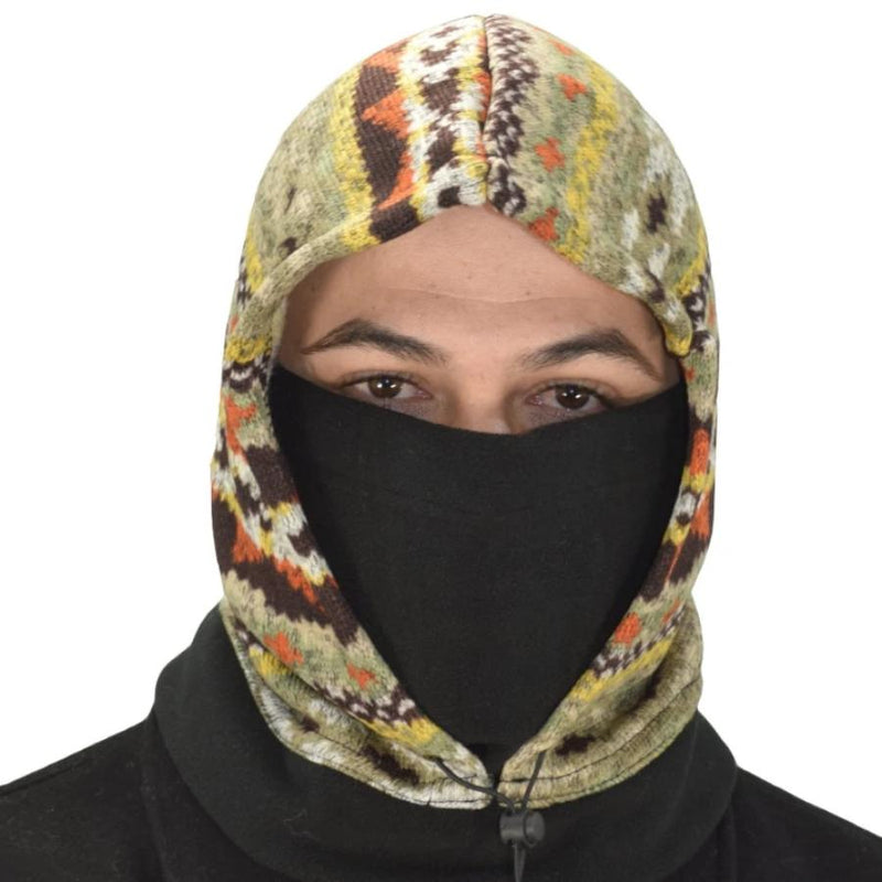 Thick Knit One Hole Facemask Balaclava - BEAUTY & WELLNESS - NIGEL MARK