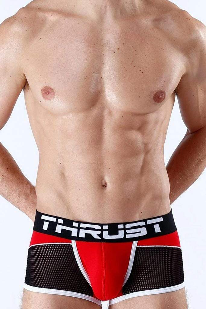 Thrust Boxer Brief Red - MEN UNDERWEAR - NIGEL MARK