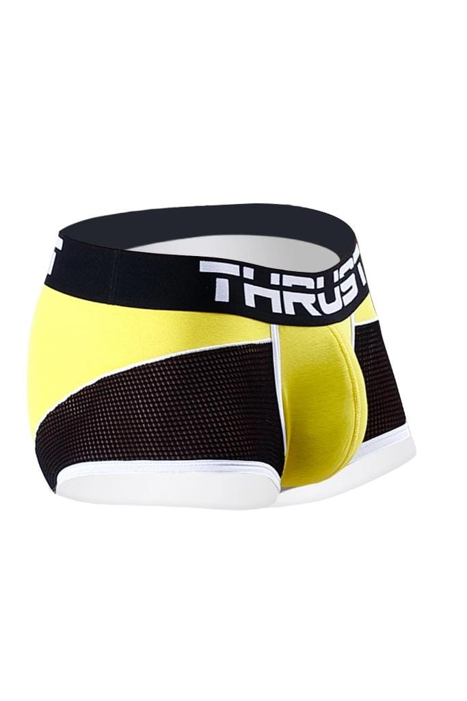 Thrust Boxer Brief Yellow - MEN UNDERWEAR - NIGEL MARK