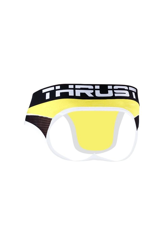 Thrust Jockbrief Yellow - MEN UNDERWEAR - NIGEL MARK