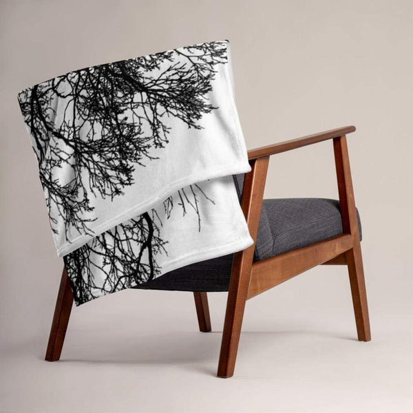 Tree Throw Blanket - BEDROOM - NIGEL MARK