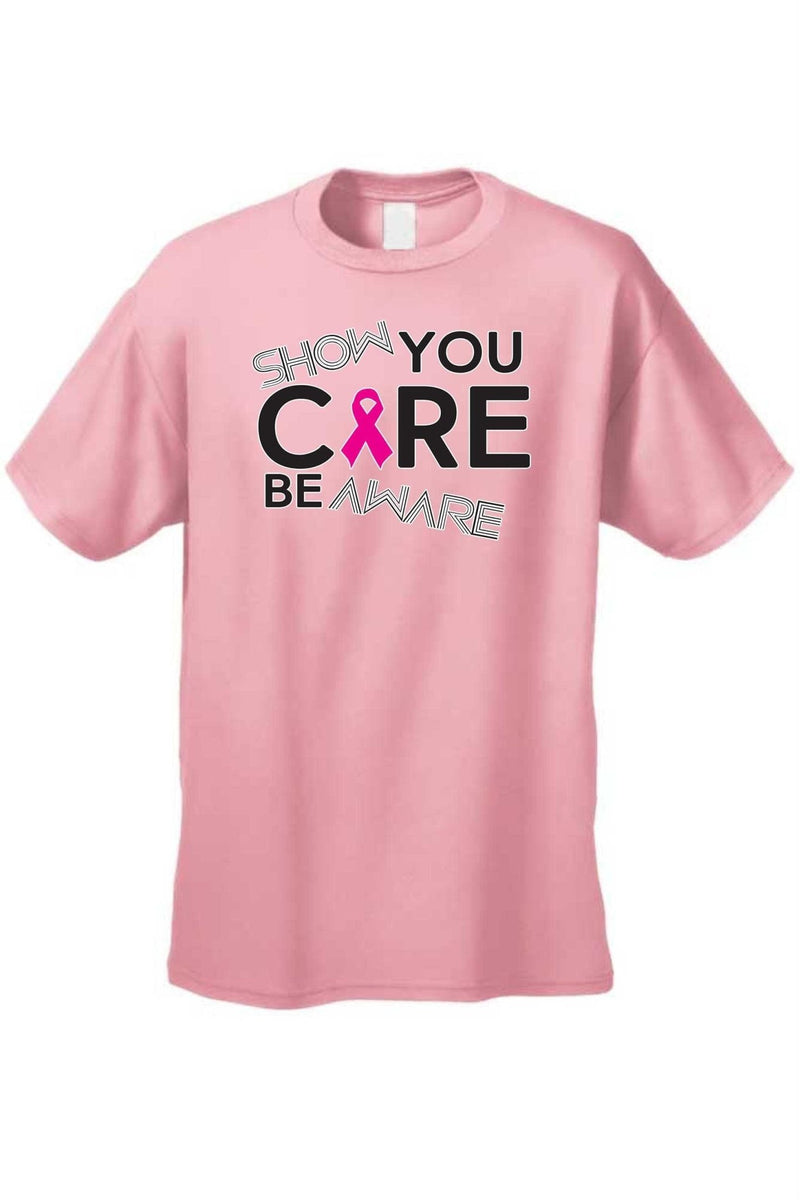 "Unisex BCA ""Show You Care Be Aware"" Short Sleeve - MEN TOPS - NIGEL MARK"