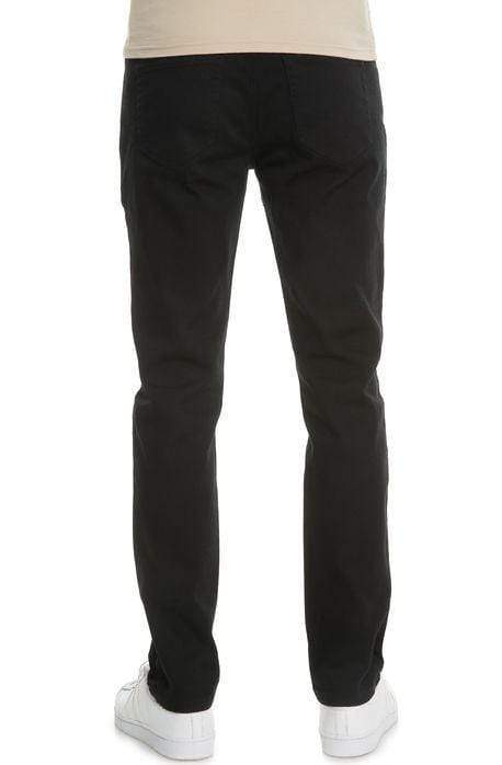 VB Basic Slim Straight Jeans (Black) - MEN BOTTOMS - NIGEL MARK