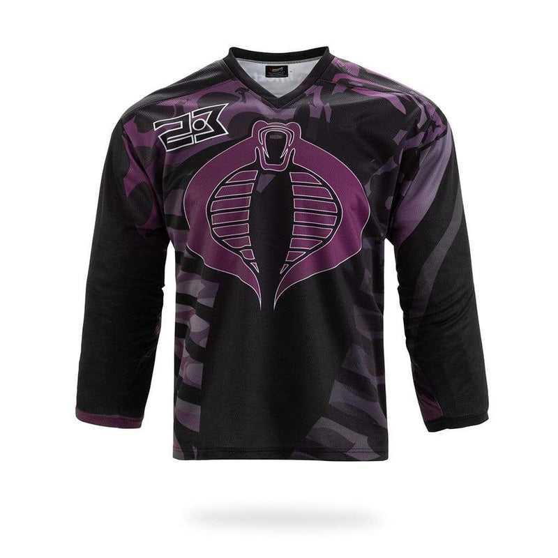 Viper Design Black Hockey Shirts - MEN TOPS - NIGEL MARK