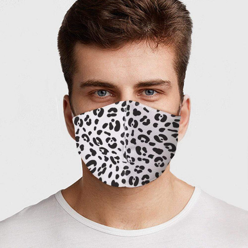 White Cheetah Face Cover - BEAUTY & WELLNESS - NIGEL MARK