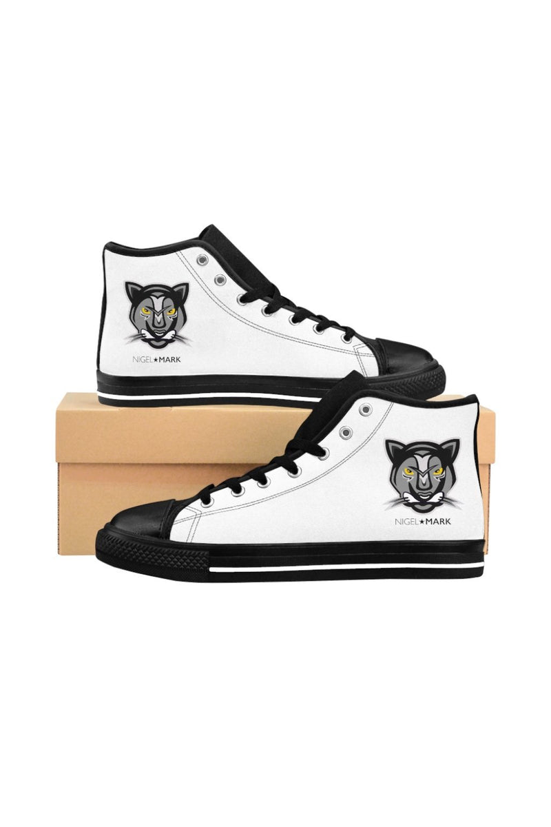 White Panther NM High-top Sneakers - NM BRANDED - NIGEL MARK