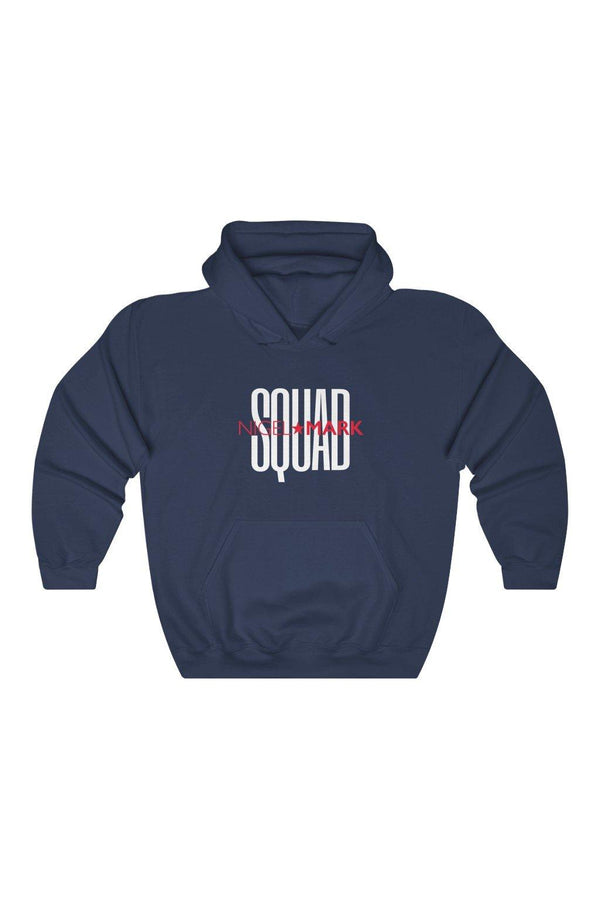 White Squad Unisex NM Hooded Sweatshirt - NM BRANDED - NIGEL MARK