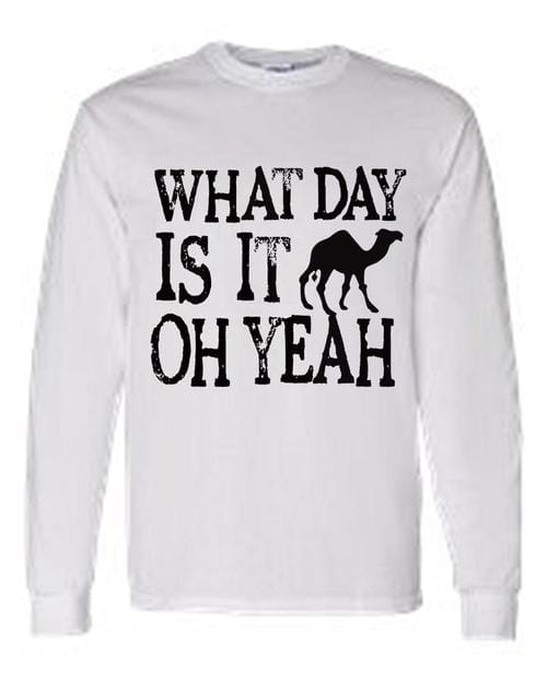 Men's/Unisex Funny Hump Daaay! Oh Yeah! Camel