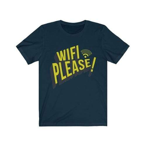 Wifi Please! - MEN TOPS - NIGEL MARK