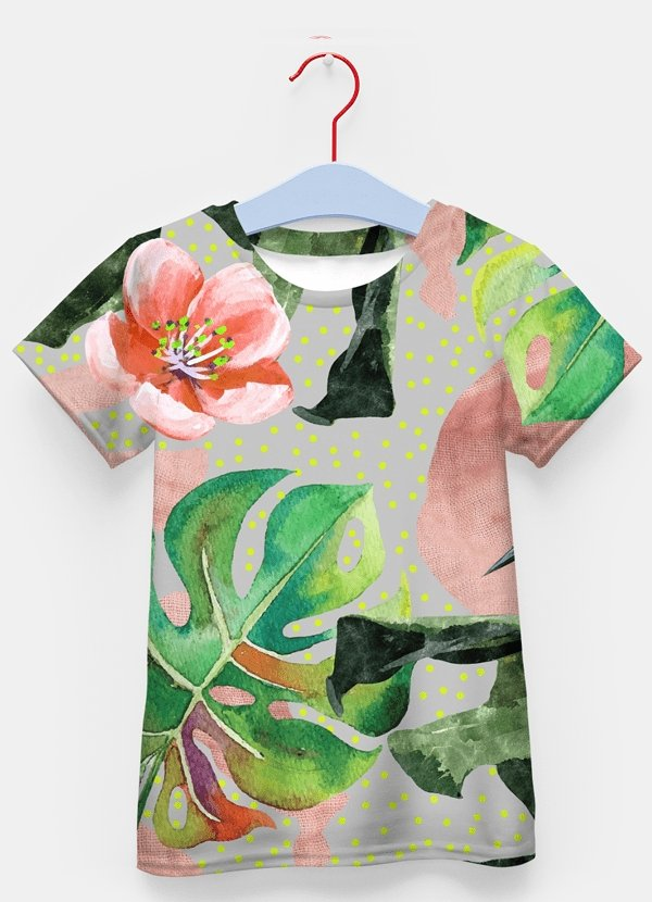 Wild Forest Sublimation Kids T-Shirt - MEN TOPS - NIGEL MARK