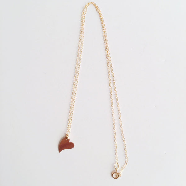 Wild Heart Handmade 14k Gold Filled Necklace - Jewelry & Watches - NIGEL MARK