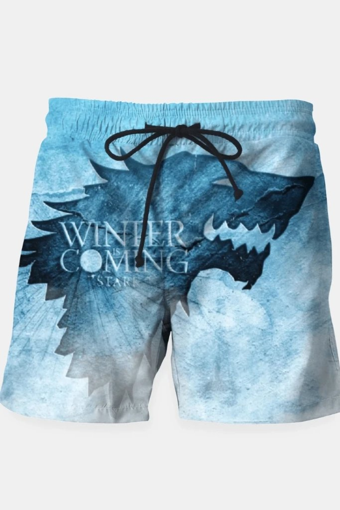 Winter Is Coming - Games Of Thrones Shorts - MEN SHORTS - NIGEL MARK