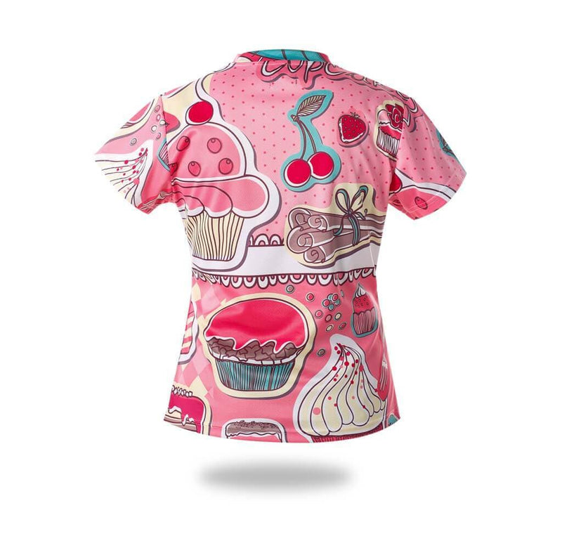 Woman Sublimated Cakes Design Tshirts - MEN TOPS - NIGEL MARK
