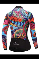 Women Long Sleeve Thermal Fleece Cycling Clothing - ACTIVEWEAR - NIGEL MARK