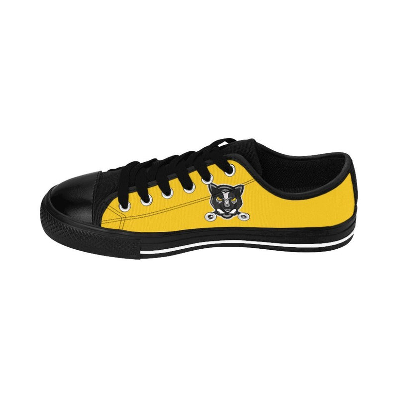 Yellow Panther Low Top NM Women's Sneakers - NM BRANDED - NIGEL MARK