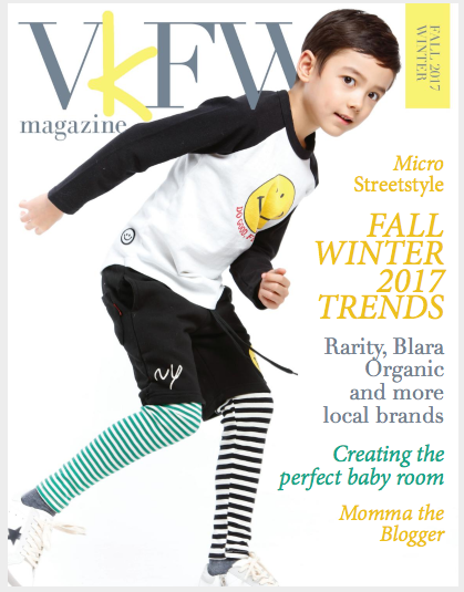 Vancouver Kids Fashion Week Magazine Blake Riley