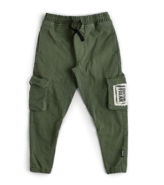 patch cargo pants