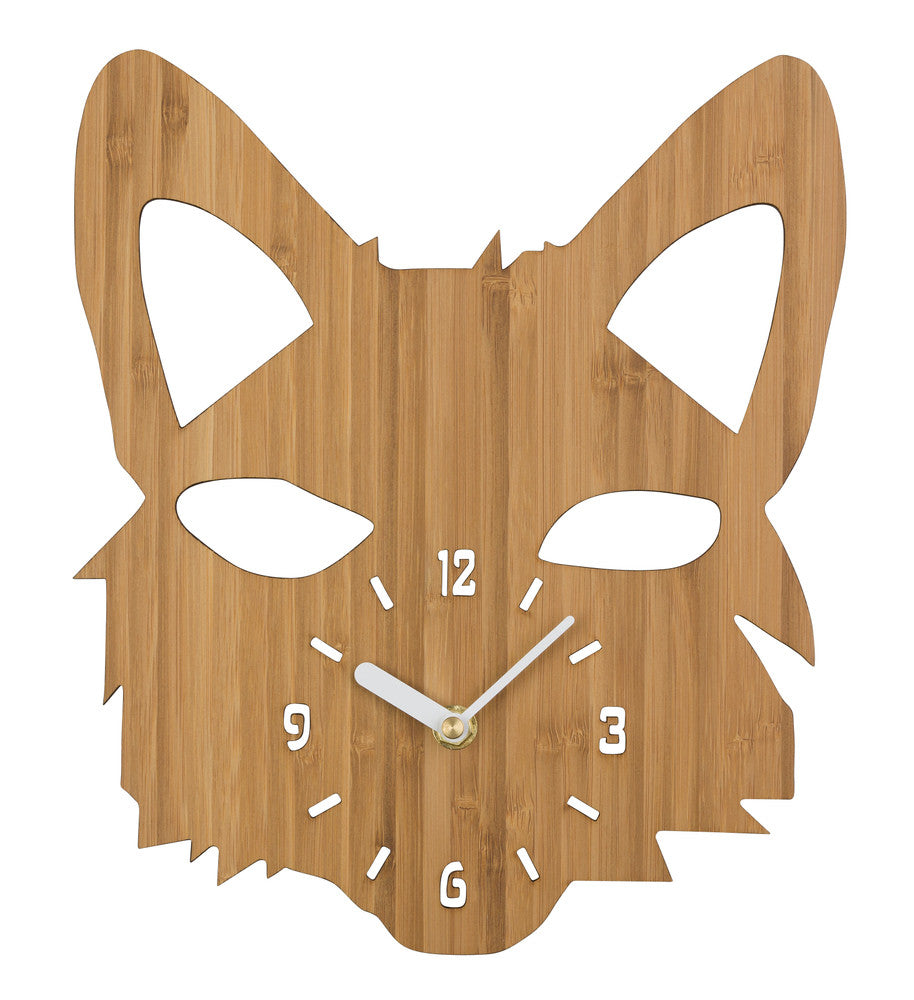 Fox Timber Clock
