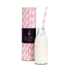 Paper Straws - Marshmallow Pink