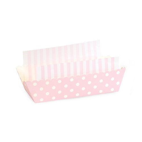Baking Trays - Pink Marshmallow Spots