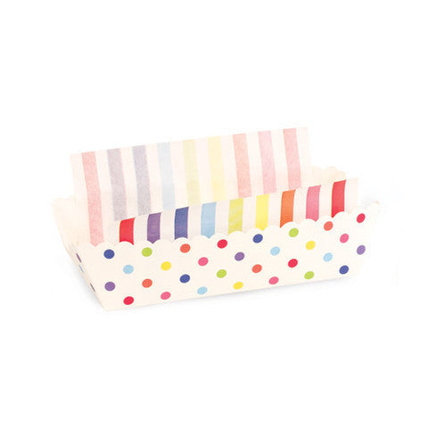 Baking Trays - Rainbow Spots