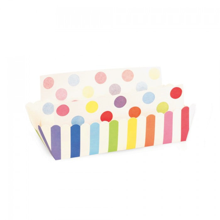 Baking Trays - Rainbow Stripes