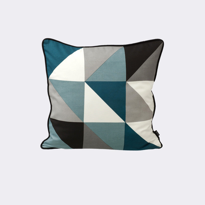 Remix Cushion - Blue