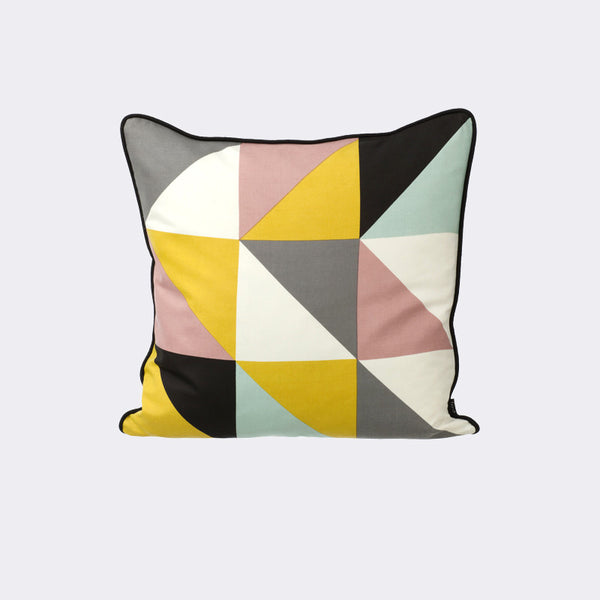 Remix Cushion - Yellow